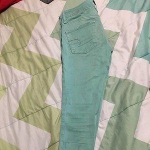American Eagle Outfitters Pants - Sea foam green pants